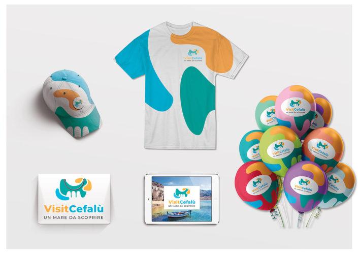 anteprima-logo-visit-cefalù-immagine-aziendale-colori-caldi-palloncini-sito-web-startlog