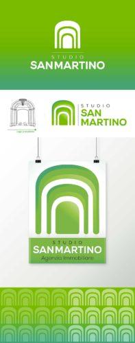 logo-verde-agenzia-immobiliare-studio-restyling-cartellone-sanmartino-startlog