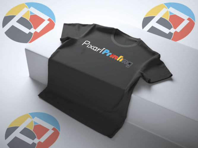maglietta-nera-logo-colori-immagine-aziendale-pixartprinting-startlog